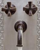 传统浴壁青铜水龙头