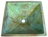 方形青铜浴缸