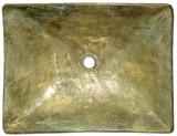 长方形青铜浴缸水槽