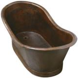 乡村铜浴缸