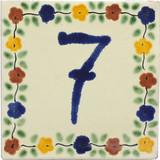 7号瓷砖牌匾