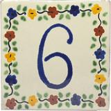 6号瓷砖牌匾