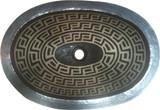 装饰性铜浴室水槽