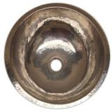 镀镍铜浴室水槽