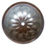 圆形镀镍铜浴池