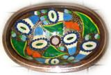 椭圆形墨西哥铜浴室水槽
