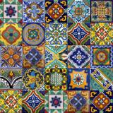 墨西哥瓷砖楼梯立管