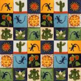 墨西哥瓷砖德州混合