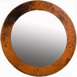 生产圆铜镜