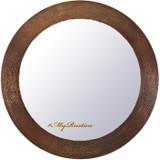 手锤圆铜镜