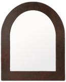 手工拱形铜镜