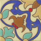 西班牙浮雕瓷砖蓝色