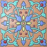 阿华托蓝色浮雕瓷砖