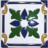 乡村浮雕瓷砖绿