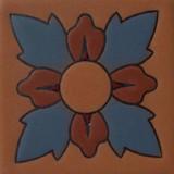 蓝色庄园浮雕瓷砖