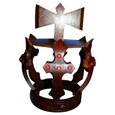 Wood Crown for Shango