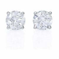 1.50 ct Diamond Stud Earrings