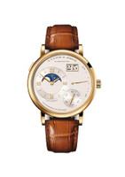 A. Lange & Sohne Grand Lange 1 Moon Phase Yellow Gold Watch 139.021