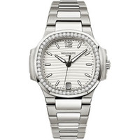 Patek Philippe Nautilus Automatic Diamonds Steel WoWatch 7018/1A-001