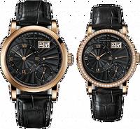 A. Lange & Sohne Lange 1 Pink Gold Black 101.065-811.065