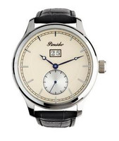 Pineider Small Seconds Watch White dial