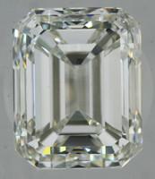 4.03 Carat I/VS1 GIA Certified Emerald Diamond