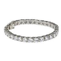 16.88 ctw Round Diamond Tennis Bracelet