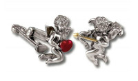 ZANNETTI CUPID CUFFLINKS