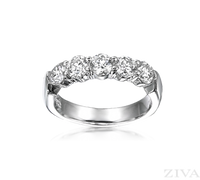 Ziva 1.5 Carat Diamond Anniversary Band