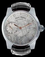 Pierre Thomas Geneve Grande Seconde Historical Mechanical Movement Meteorite Dial Men's Watch