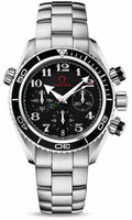 Omega Ladies Seamaster Planet Ocean Chrono Olympic Collection Timeless Watch