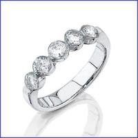 Gregorio 18K WG Diamond Ring R-0061