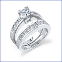 Gregorio 18K WG Diamond Engagement Ring R-321