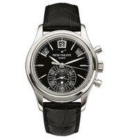 Patek Philippe Annual Calendar Chronograph Platinum Watch 5960P-016