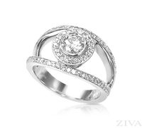 Ziva Designer Diamond Anniversary Ring