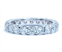 2.01 cttw Diamond Band In 18k White Gold