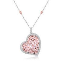 5.01 Carat Fancy Pink Diamond Pendant UP1455WR