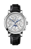 A. Lange & Sohne 1815 Rattrapante Perpetual Calendar Platinum Watch 421.025