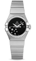 Omega Constellation Co-Axial 27 mm Brushed SS 123.15.27.20.01.001