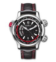 Jaeger-LeCoultre Master Compressor Extreme W-Alarm Aston Martin Titanium & Steel Watch JLC177847N
