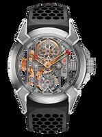 Jacob & Co Epic X Titanium/Rose Gold Manual Men's Skeleton Watch 550.100.20.NS.OY.4NS.RG