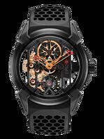 Jacob & Co Epic X Titanium with Black PVD/Rose Gold Manual Men's Skeleton Watch 550.100.21.NS.PX.4NS