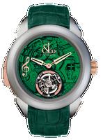 Jacob & Co Palatial Tourbillon Minute Repeater Titanium Green Dial Watch 150.500.24.NS.OG.1NS
