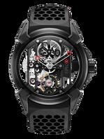 Jacob & Co Epic X Titanium with Black PVD Manual Men's Skeleton Watch 550.100.21.NS.PY.4NS
