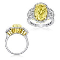 8.33 CT Fancy Diamond Ring