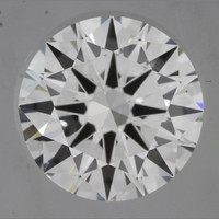 1.0 Carat E/VVS1 GIA Certified Round Diamond