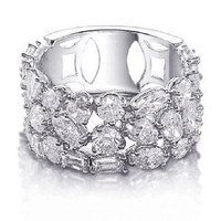 5.11 Ct Diamond Right Hand Ring
