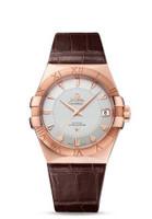 Omega Constellation Chronometer 38mm Sedna Gold Watch 123.53.38.21.02.001