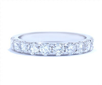 1.06 cttw Diamond Band In 18k White Gold