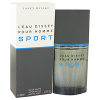 L'eau D'Issey Pour Homme Sport by Issey Miyake Toilette  Spray 3.4 oz